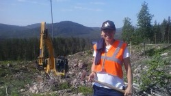 En hälsning från en blivande Bergmaterialingenjör
