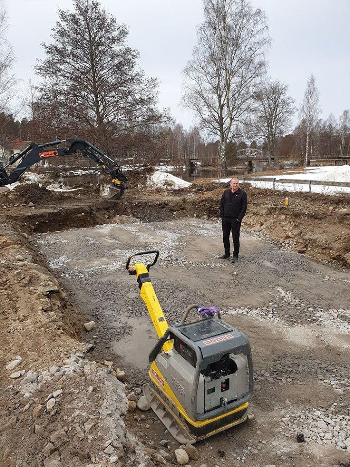Bygge i Näsviken